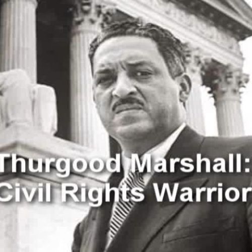 A biography of the life and times of thurgood marshall