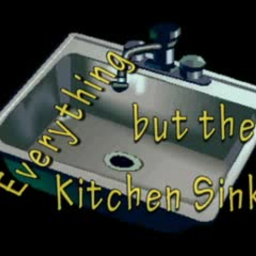 Idioms in ASL Everything but the Kitchen Sin