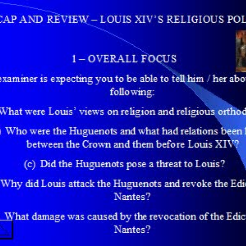 louis xiv and religion essay He is mostly remembered as a fierce conqueror of the islamic religion in middle eastern cultures louis xiv of france and ottoman empire essay.
