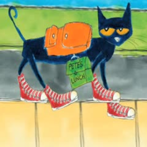 Pete The Cat Rocking In His School Shoes