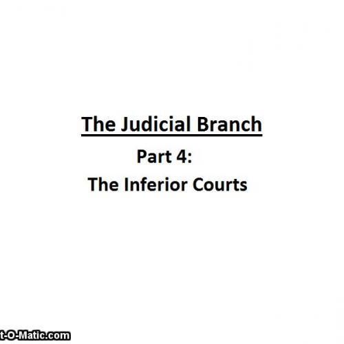 an overview of the judiciary