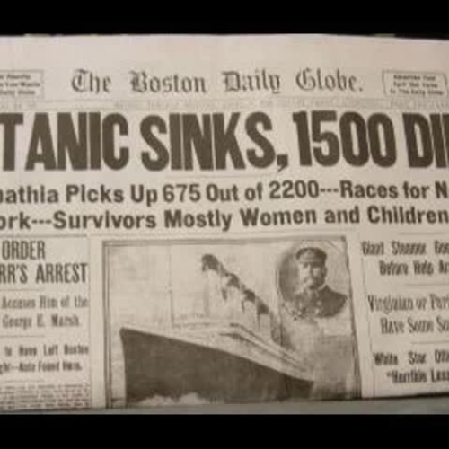 titanic movie research paper