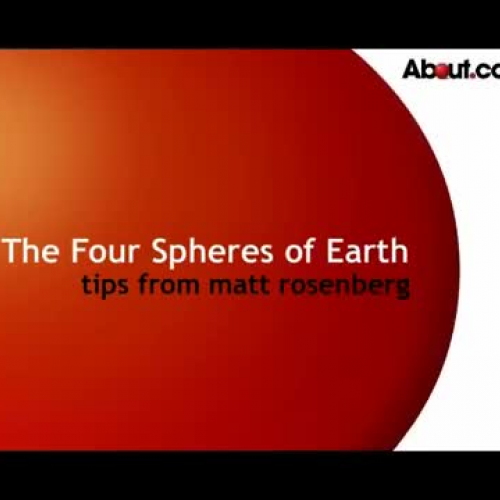 the four spheres 1 earth systems overview the earth is 46 billion years old it is the only planet  presently known to support life the earth is a closed system there is an.