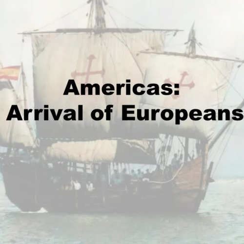 how the arrival of the europeans The arrival of the europeans and the introduction of english and french outline  the first voyages of the europeans canada at the time of new france.