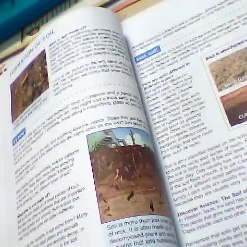 Formation Of Soil Worksheet P 40