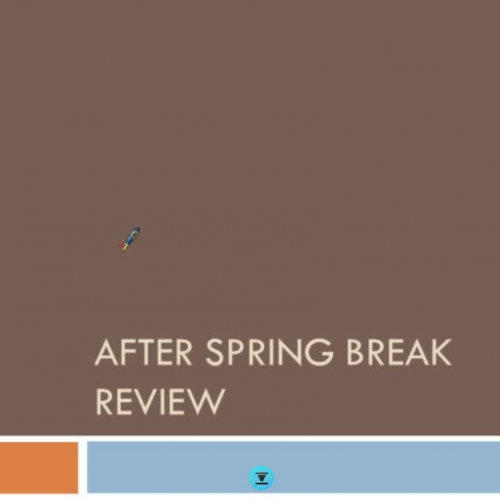 spring break review