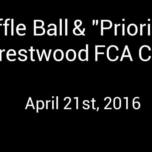"Wiffle Ball And ""Priorities"""