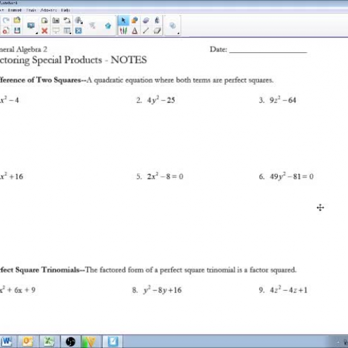 special products and factoring Lecture 03 special products and factoring 1 special products and factoring 2  multiply: a monomial and a polynomial multiply each.