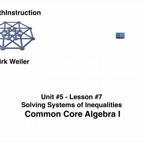 common core algebra i unit 5 lesson 7 solving systems of