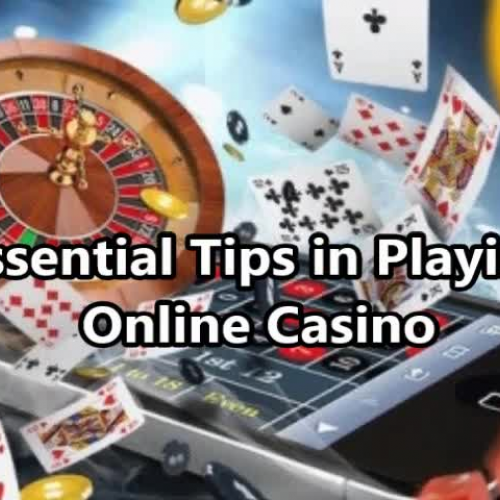 playing online casino tips