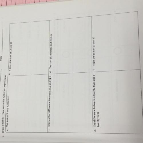 Module 2 lesson 1 grade 5