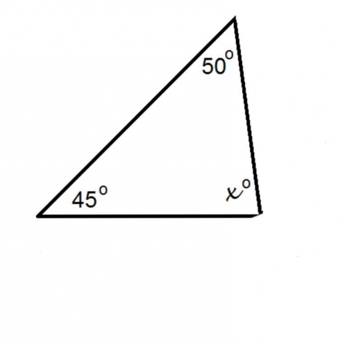 Interior angles of a triangle 1 for Interior and exterior angles of a triangle