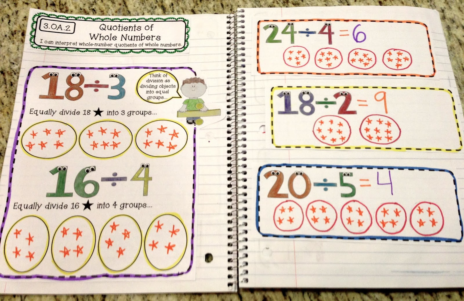 3rd Grade Math Worksheets – Free Division Worksheets for 3rd Grade