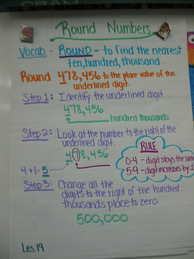 5th Grade rounding whole numbers worksheets 5th grade : 4th Grade Math Worksheets | Long division worksheets and 4th grade ...