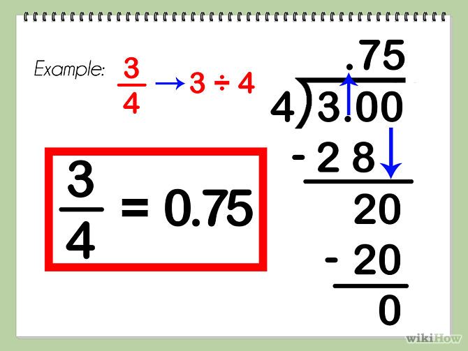Convert Decimal to Fraction | Converting fractions to decimals and ...